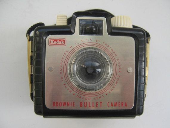 Vintage Kodak Camera Brownie Bullet