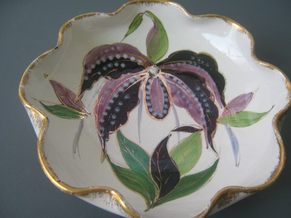 Reserved for William Vintage Dish Bowl Italy