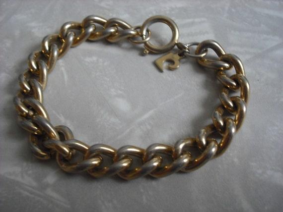 Vintage Bracelet Pierre Cardin Chain
