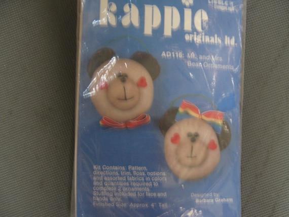 Vintage Ornament Kit Teddy Bears