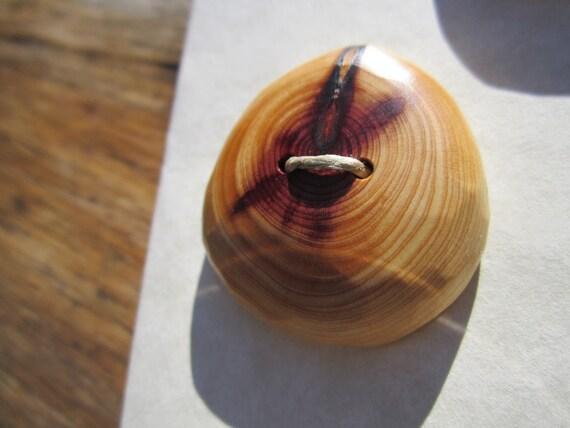 Reserved- 3 Cedar Buttons- Handmade Wooden Buttons in reclaimed Western Red Cedar