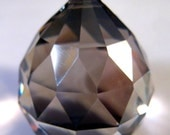 30mm Satin Chandelier Crystal Ball Prism - 30mm Faceted FULL LEAD Crystal Ball (S-17)