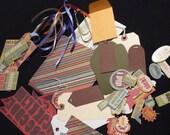 Rumble Tumble Boy Paper Bag Scrapbook Kit