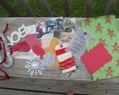Happy Holidays Christmas Embellishment Package/Kit