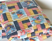 Holly Hobbie Vintage quilted Fabric 1 yard