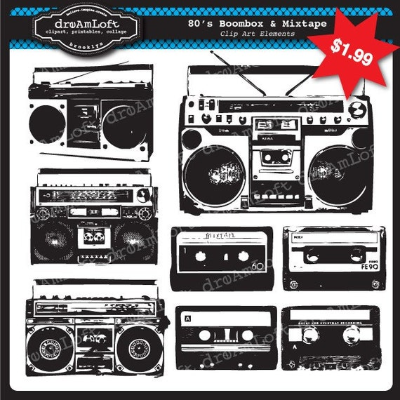 Similiar Boombox Silhouette Keywords