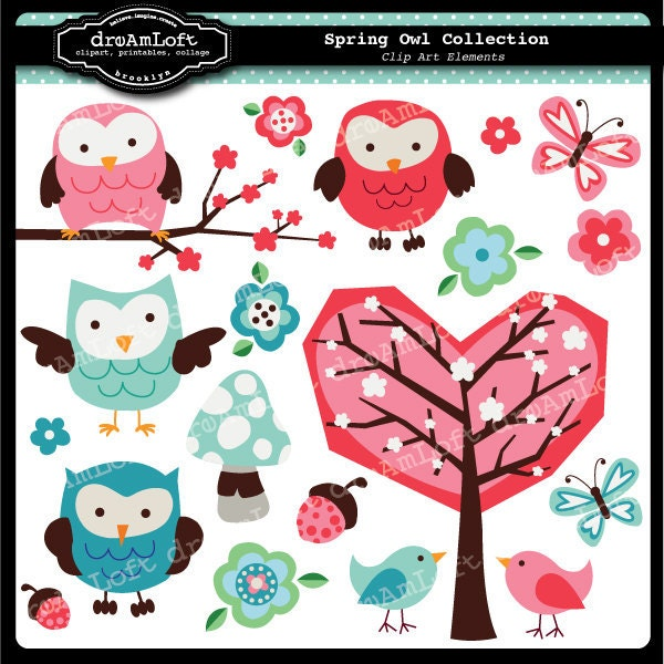 free easter owl clip art - photo #38