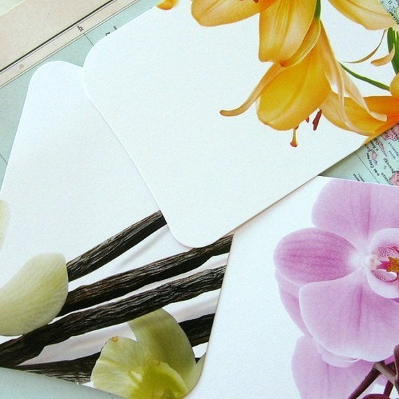 Beautiful, high quality, recycled paper cards - 27 pcs