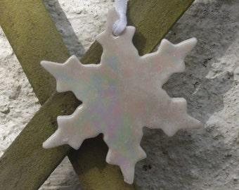Snowflake Christmas Decoration - Stocking Stuffer - Christmas Tree Decoration - Xmas Decoration - xmas tree decoration - stocking filler