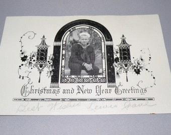 World War II Navy Christmas Card