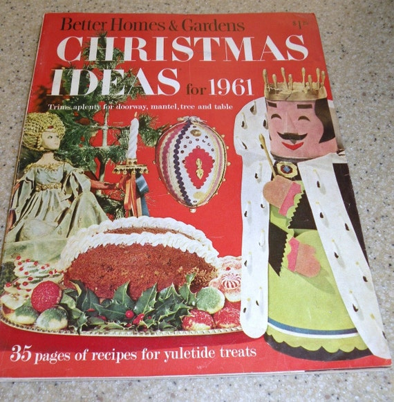 1961 christmas ideas from better homes and gardens special Better homes and gardens christmas special