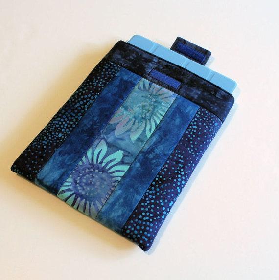Blue Batiks iPad Sleeve 1 or 2 or 3