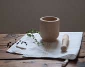 vintage mortar & pestle