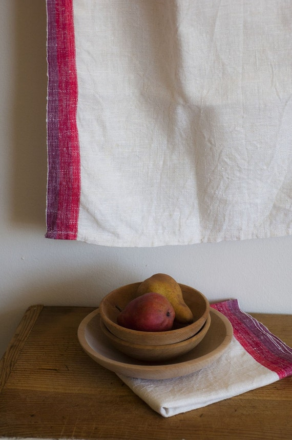 bremer collection- raw linen table runner