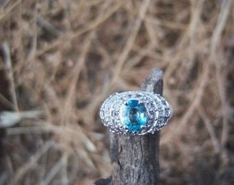Blue Topaz Ring/144