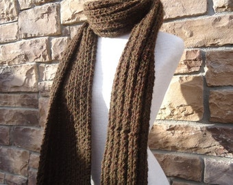 Hand Knit Scarf - Francis