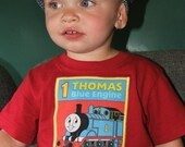 Boutique Thomas Train shirt sizes 12 months-5t sooo cute great for birthday party