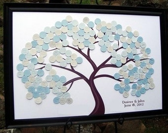 Large Guest Book Tree for 175- 300 Guests
