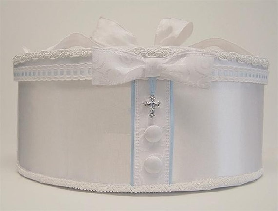 Baptism Christening Dedication Money Card Holder Box And Baby