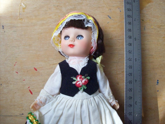 reserved for oshirohouse Vintage Polish doll  Ginny Type International doll.was5.99