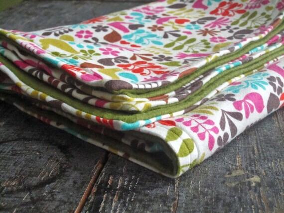 Soft Baby Blanket / Scandi Chirp