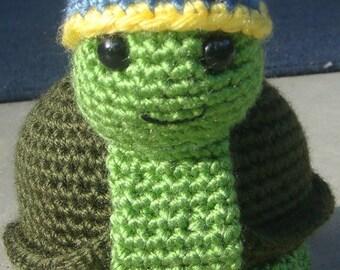 Speedy the Tortoise - Turtle Amigurumi Pattern (PDF)