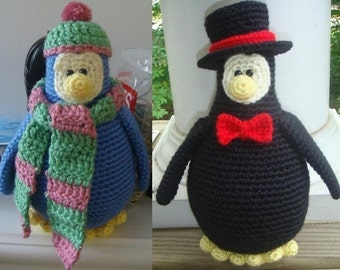 Penguin - Crochet Pattern (PDF)