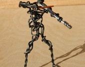 Violinist Wire Figure