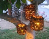 Vine Lanterns (Set of 3)