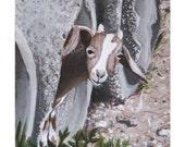 Baby Goat - Original Painting