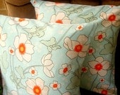 "Poppies - Two 16"" Pillow Covers"