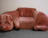 Hillhock - Domestic Pig Couch & Sculpture