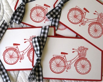 Bicycle Gift Tags