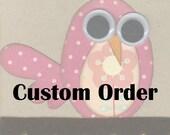 Custom Order for MidnightRooster