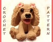 Stella the Cocker Spaniel Dog- PDF Crochet Pattern