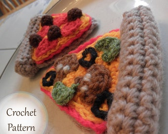 Yummy Pizza - PDF Crochet Pattern