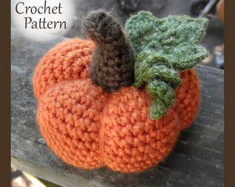 Harvest Pumpkin - PDF Crochet Pattern