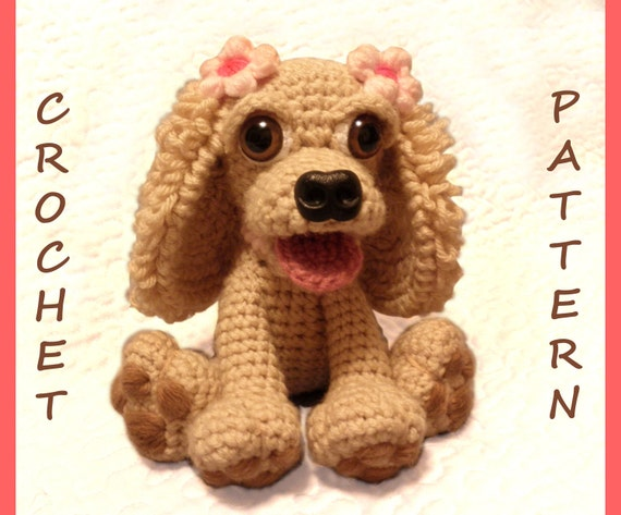 Stella the Cocker Spaniel Dog- PDF Crochet Pattern
