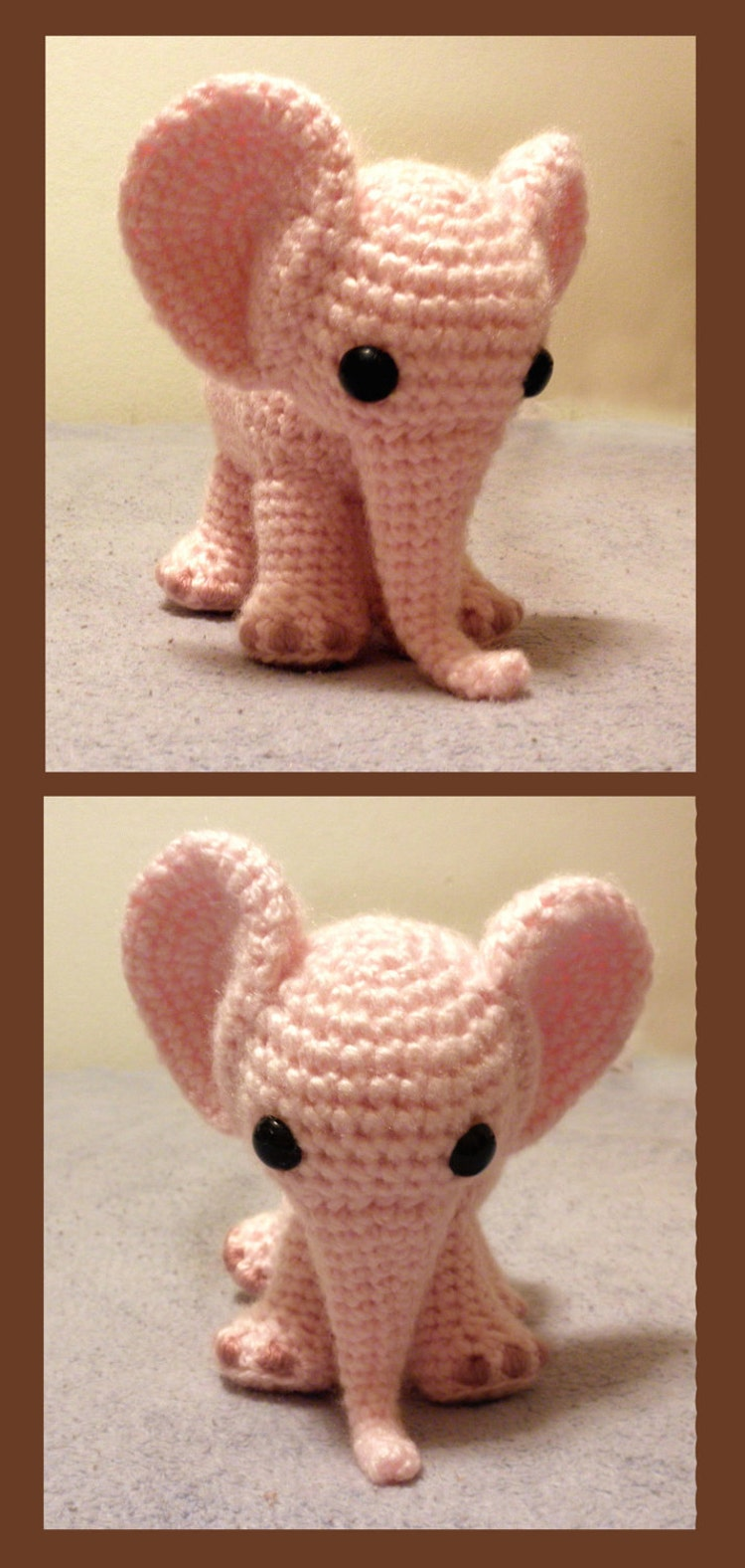 Ella The Elephant Pdf Crochet Pattern By Luvbug026 On Etsy