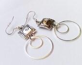 Dangle O Ring Earrings