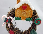 Gingerbread House Baked With  Love Christmas Ornament 315
