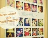 Baby's First Year Personalized Instagram Poster