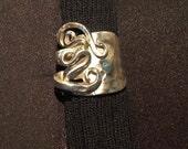 Silver Fork Fancy Ring