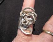 Fancy Fork Ring size 7 1/2