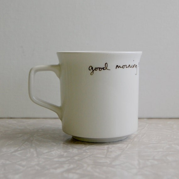 Good morning starshine mug