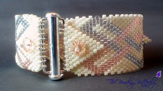 Celtic Rope Bracelet Peyote Pattern - Digital Download