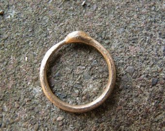 14k Y Gold Ouroboros Ring