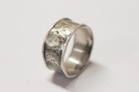Silver Organic Wide Band