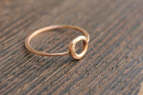 Rose Gold Circle Ring