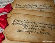 Wizard of Oz Luxury Handmade Quote Tags-Vintage Tag Set x 6-Ribbon Colour Choices Available by Craftypagan Designs